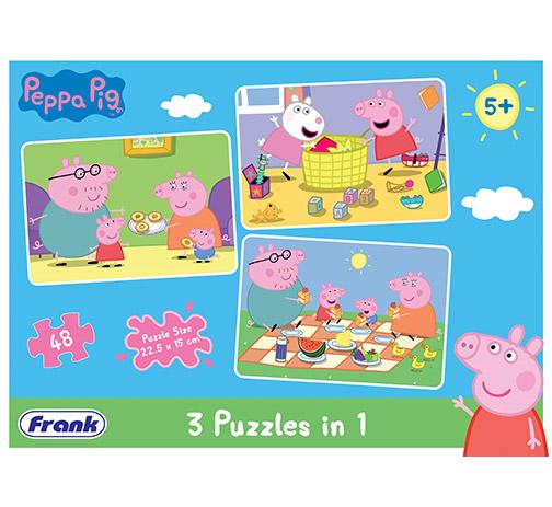 Peppa Pig 3 x 48 Pieces
