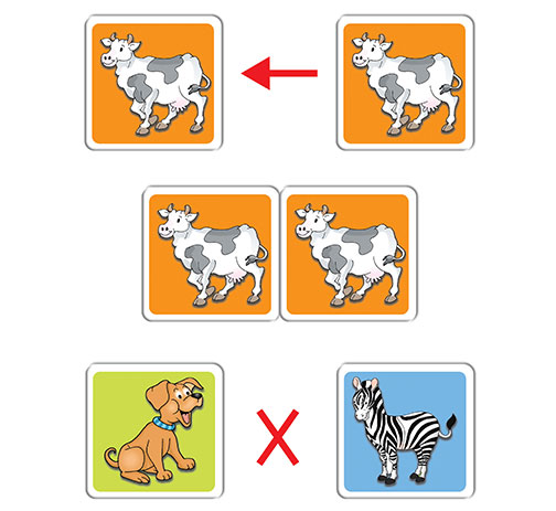 Animal Pairs (a memory game)
