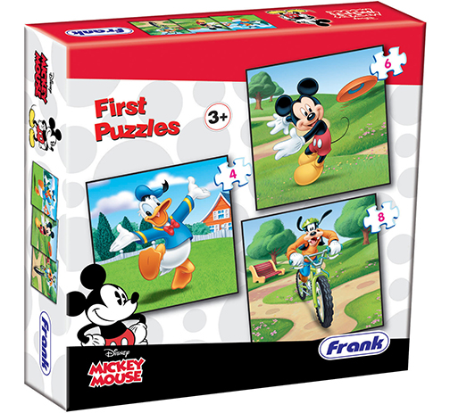 Mickey Mouse First Puzzles